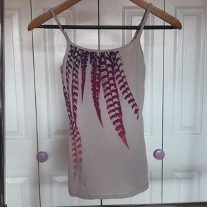 Express Feather Print Cami Size XS